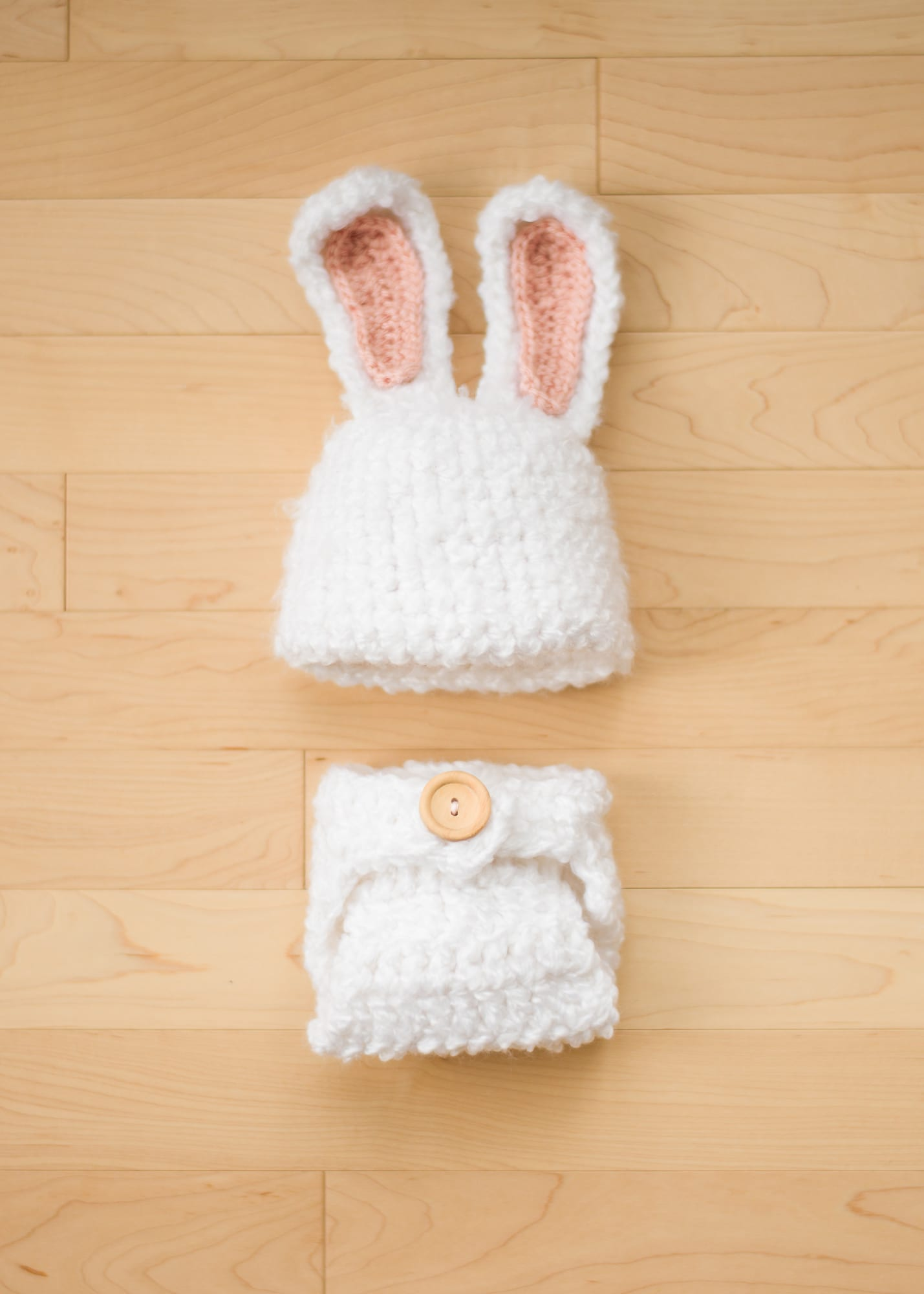 Fuzzy Baby Bunny Outfit - All About Ami