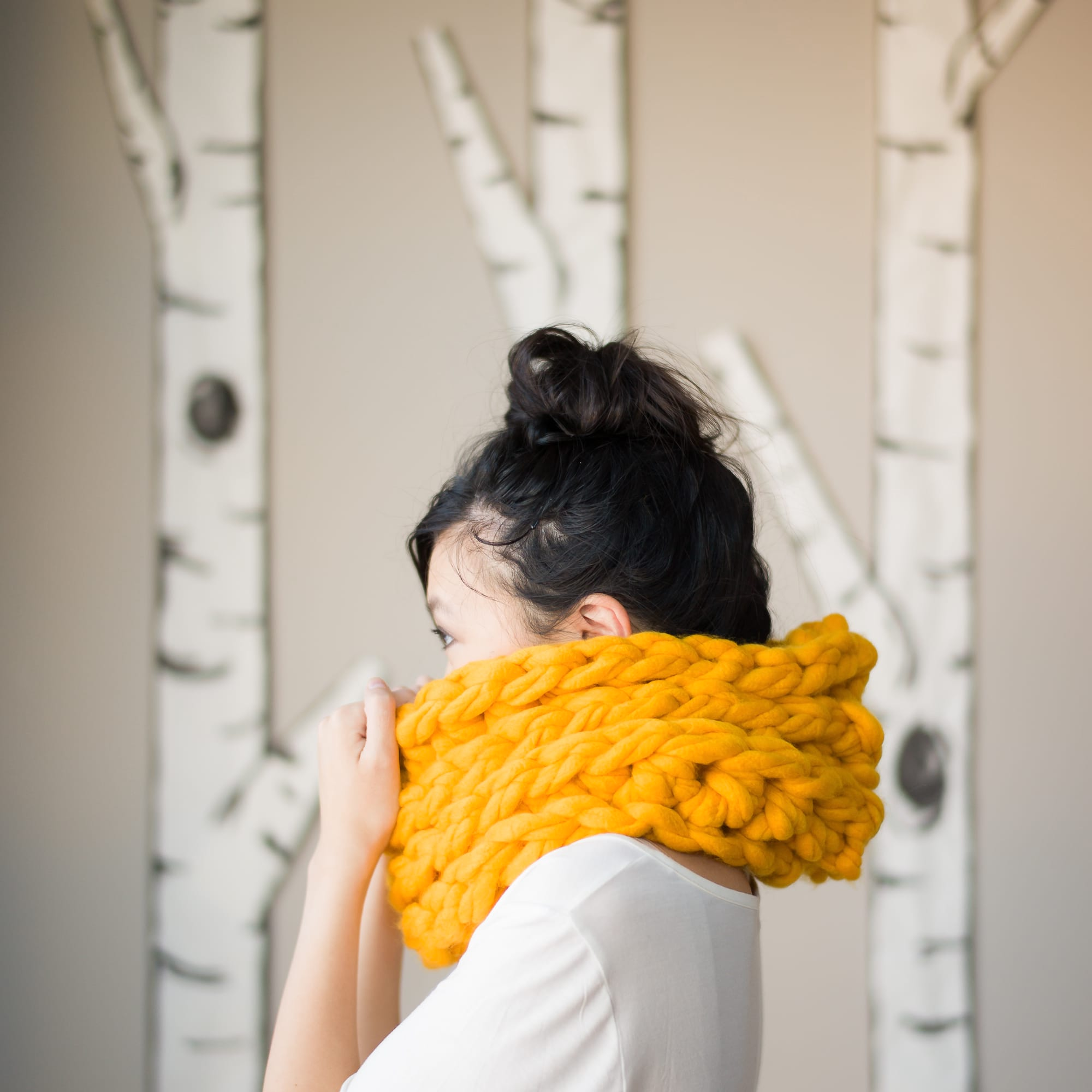 Jumbo Triple Luxe Cowl All About Ami