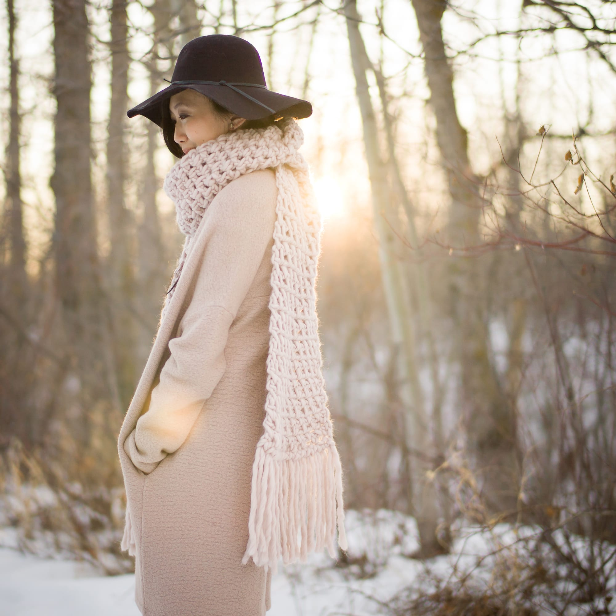 a10016f420c Moss Fringe Scarf - All About Ami