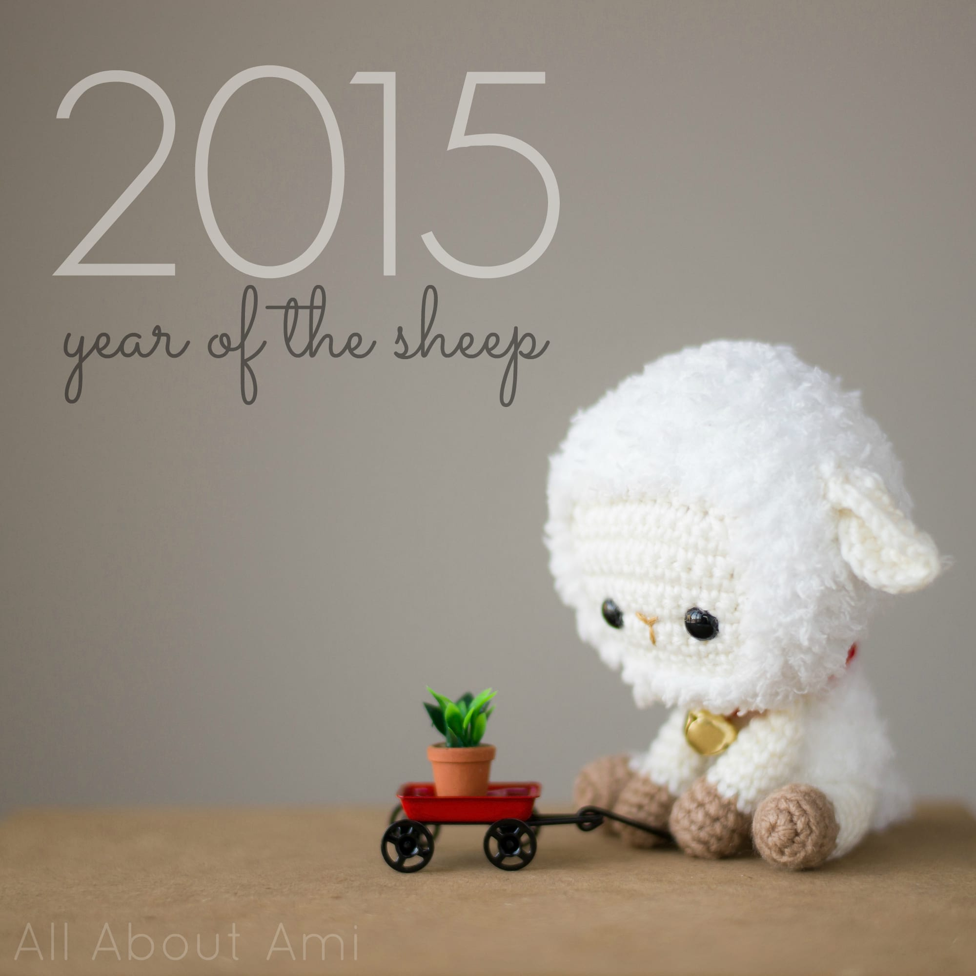 Amigurumi Toy Sheep Free Crochet Pattern | 2000x2000