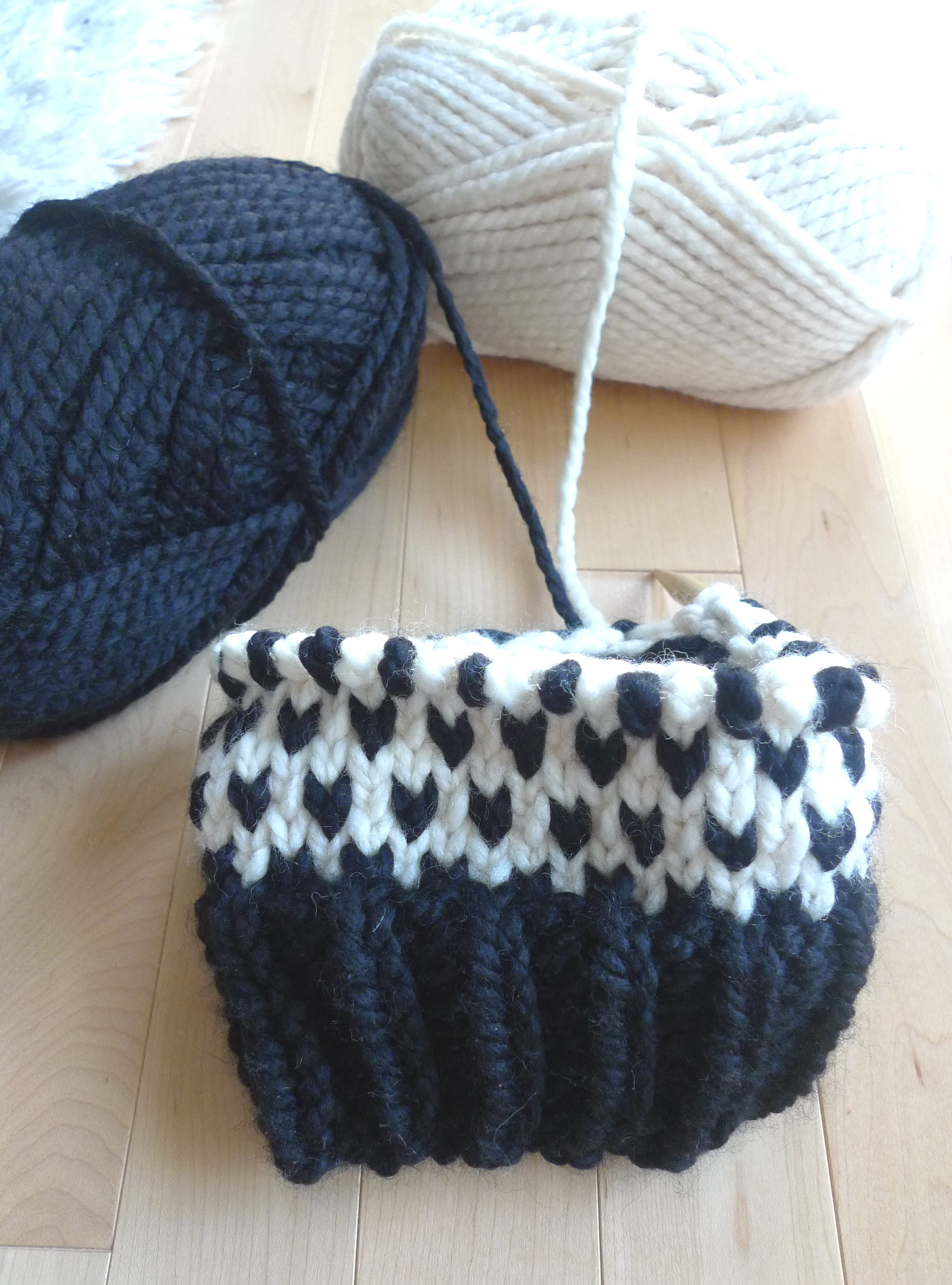 Fair Isle Knitting In The Round : Knitted fair isle hats all about ami