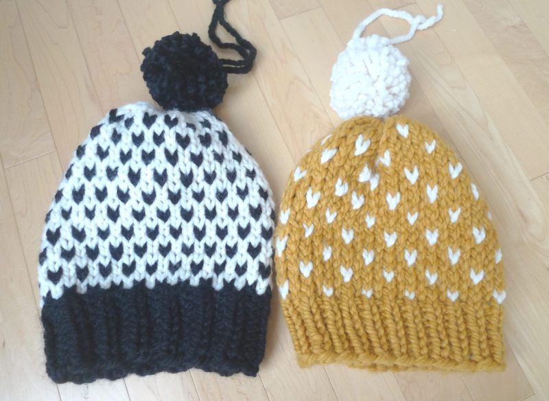 4a7e8c239be Knitted Fair Isle Hats - All About Ami
