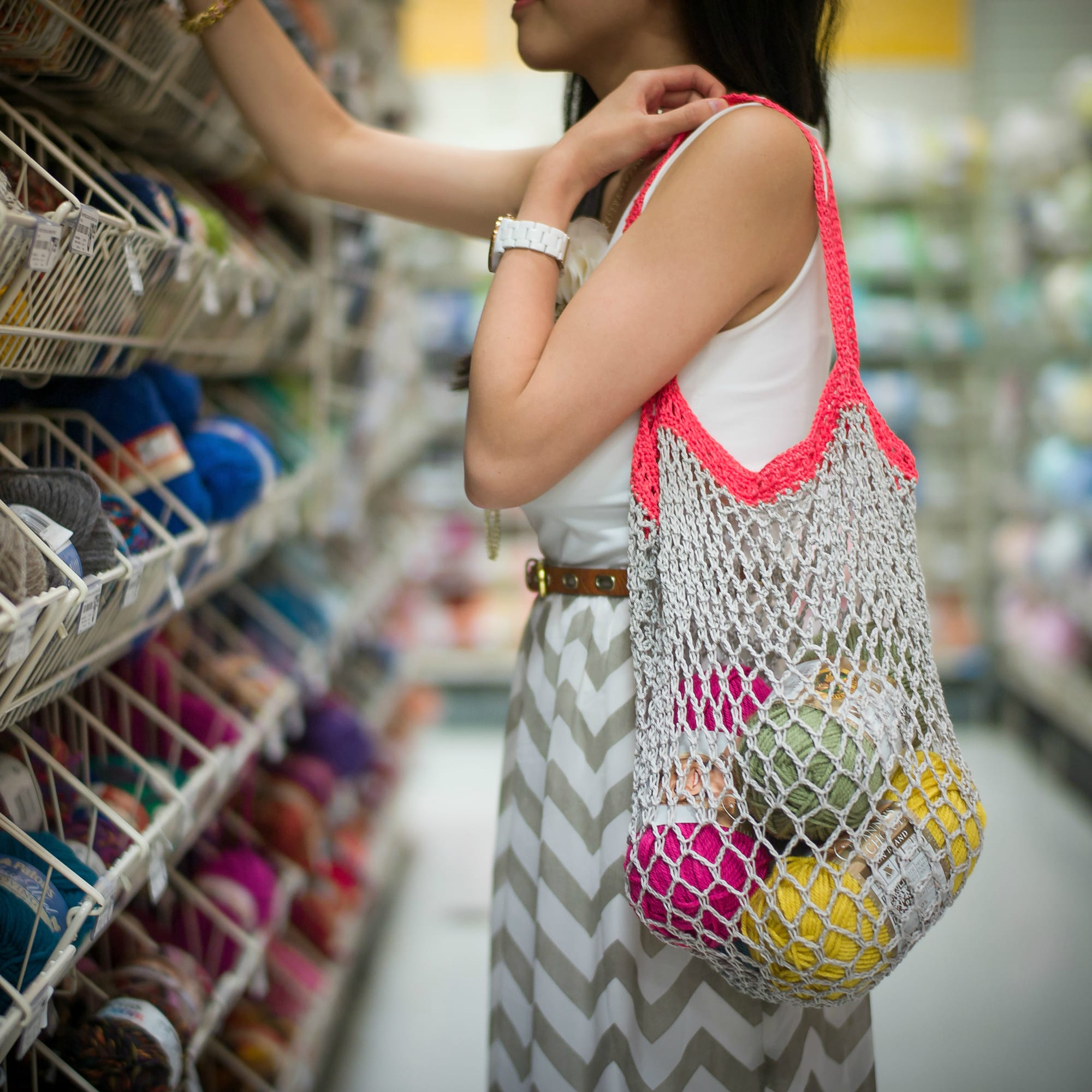 Crochet Mesh Bag All About Ami