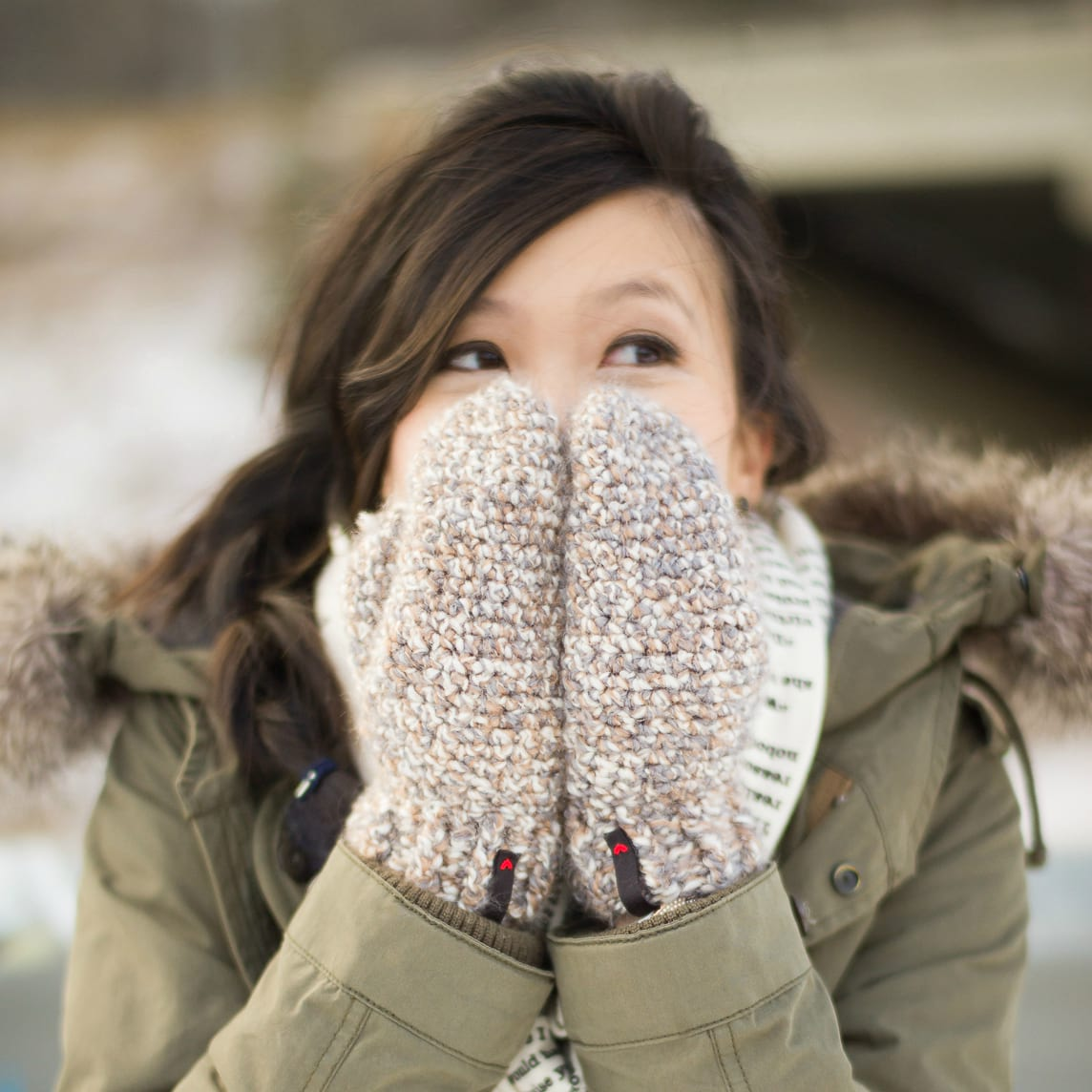 Cozy Crochet Mittens All About Ami