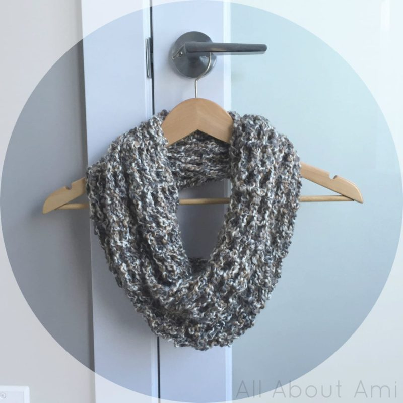 Crochet Cowl Pattern All About Ami : Homespun Cowl - All About Ami