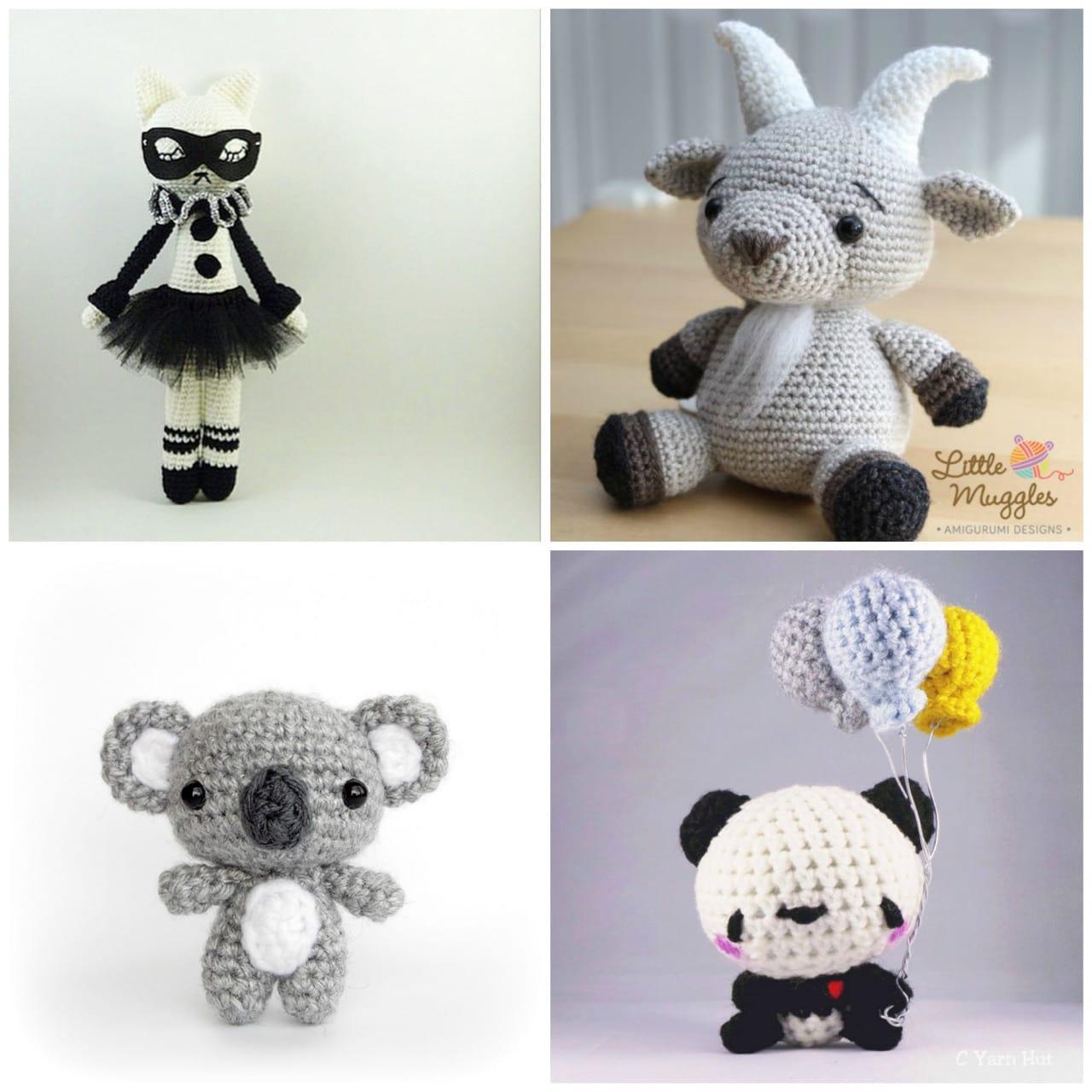 Amigurumi Koala Keychain : - All About Ami