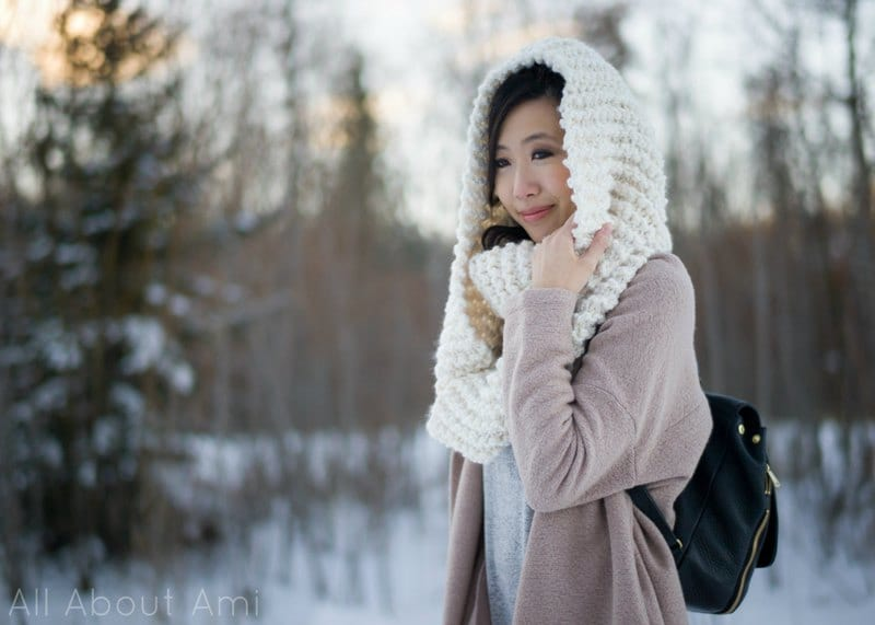 Simple Garter Stitch Cowl