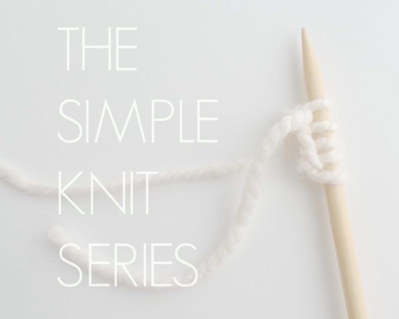 Simple Knit Series