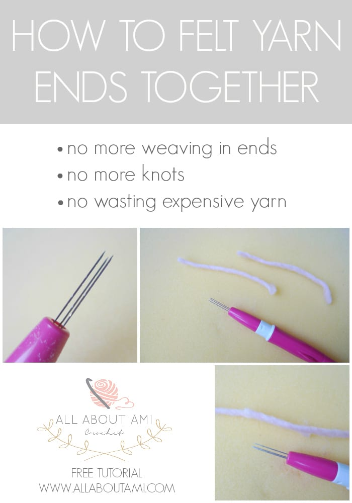 How to Felt Yarn Ends Together