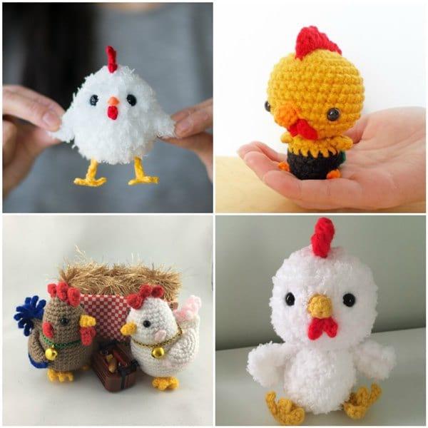 Crochet Rooster Amigurumi