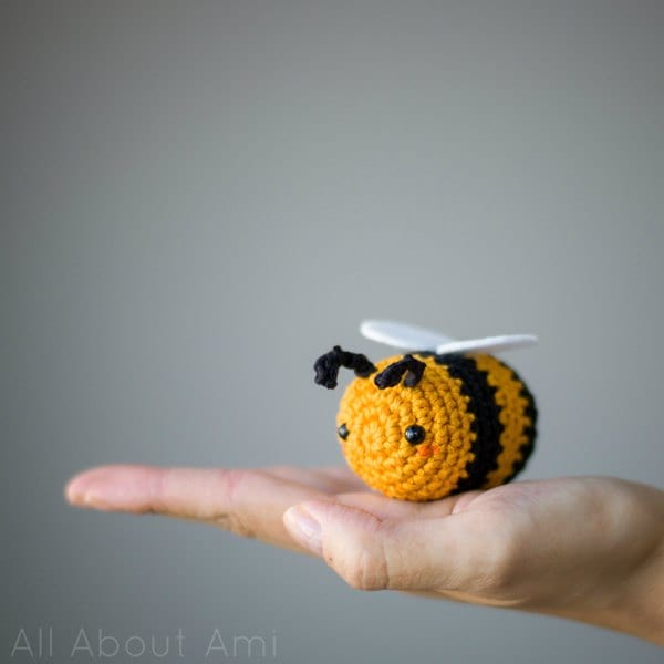 Amigurumi Bees Pattern Bumble Queen Bee All About Ami