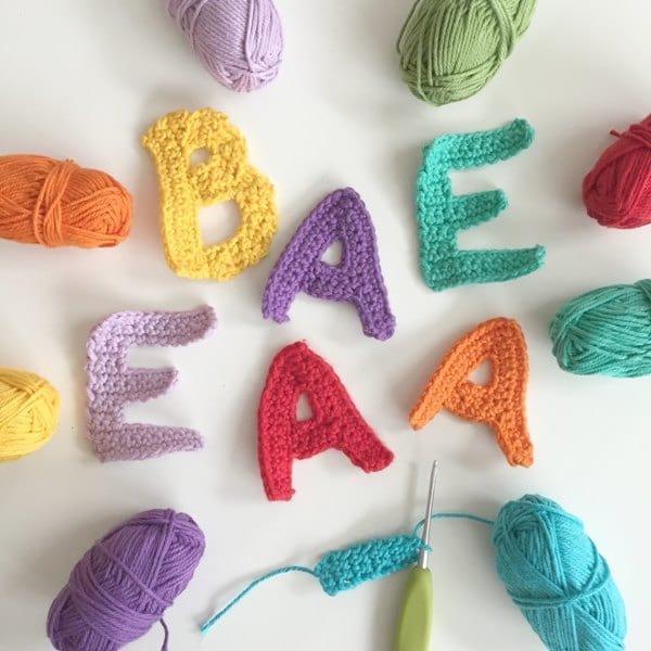 Mm Crochet Hook Letter