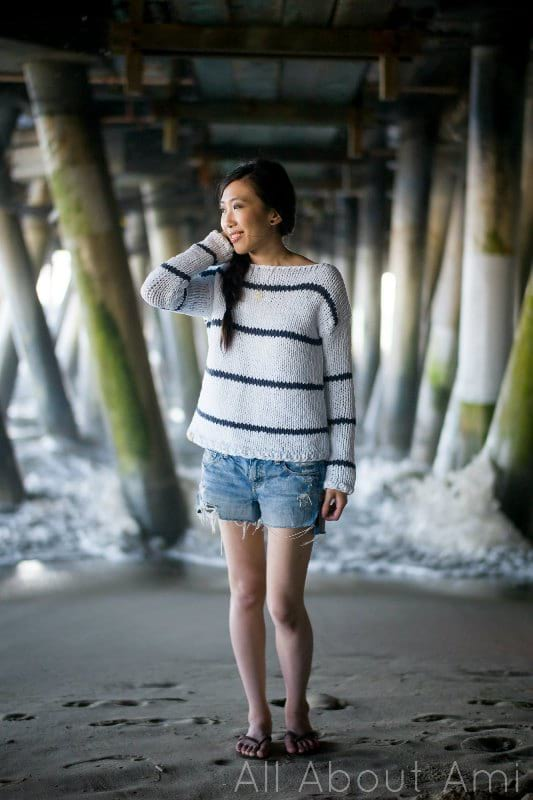 Sea Breeze Sweater Knit Pattern