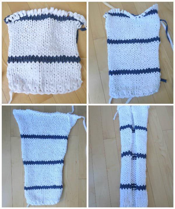 Sea Breeze Sweater Knit Pattern