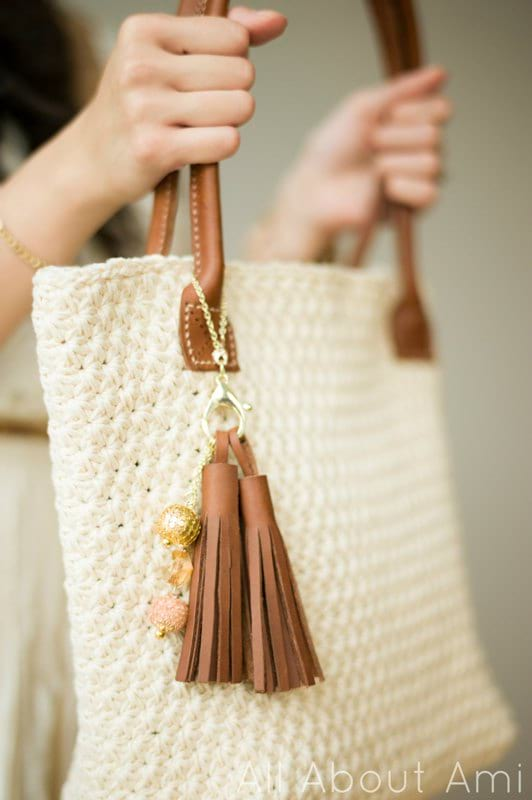 Crochet Star Stitch Purse