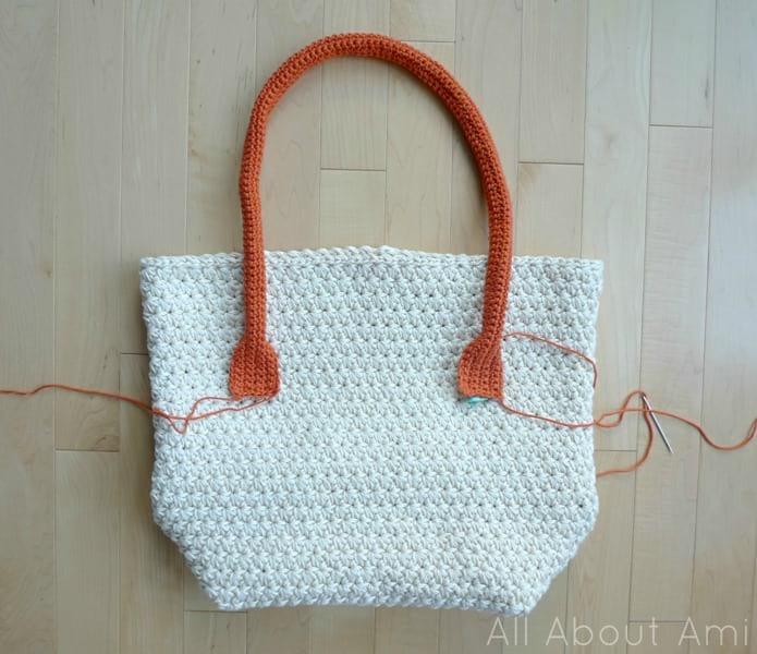 How To Crochet Purse Handles