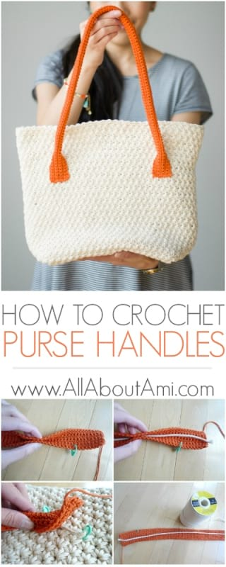 How to Crochet Purse Handles