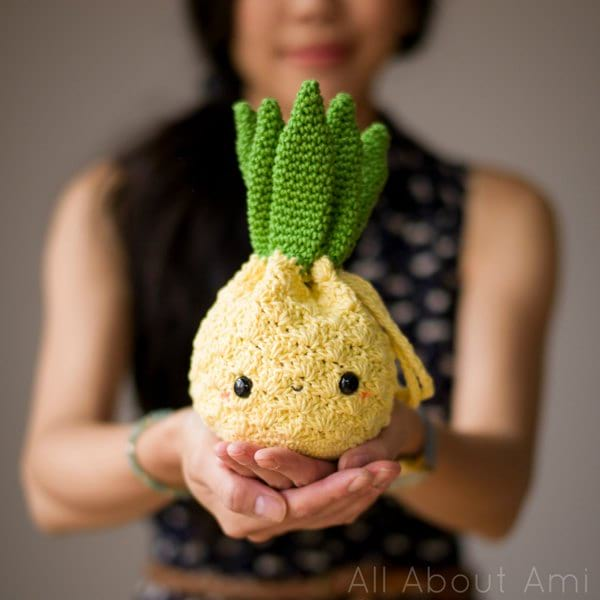 Amigurumi Pineapple Purse