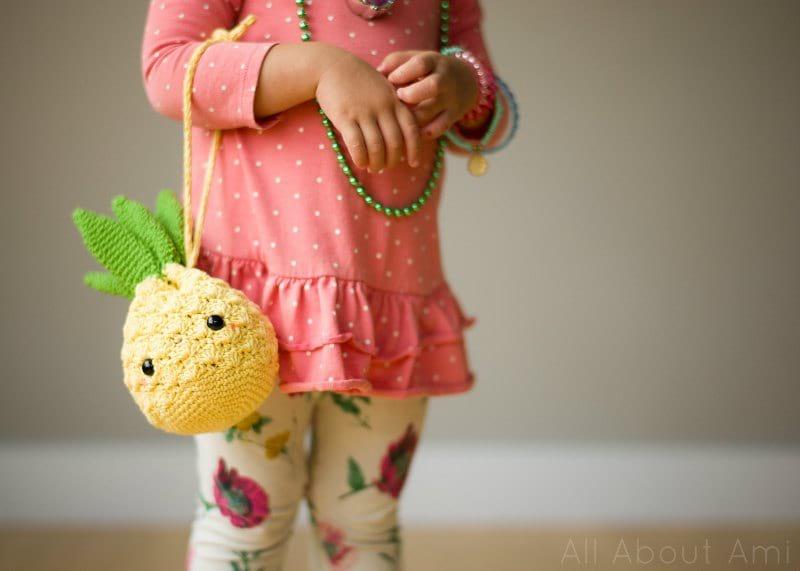 Amigurumi Pineapple Purse