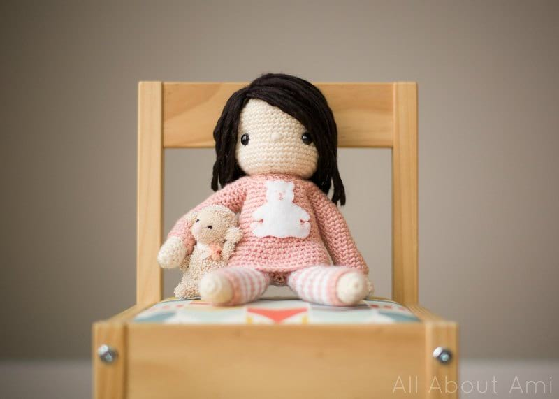 Amigurumi Doll Pattern Book : Patterns wild things are wild set of four crochet doll dolls