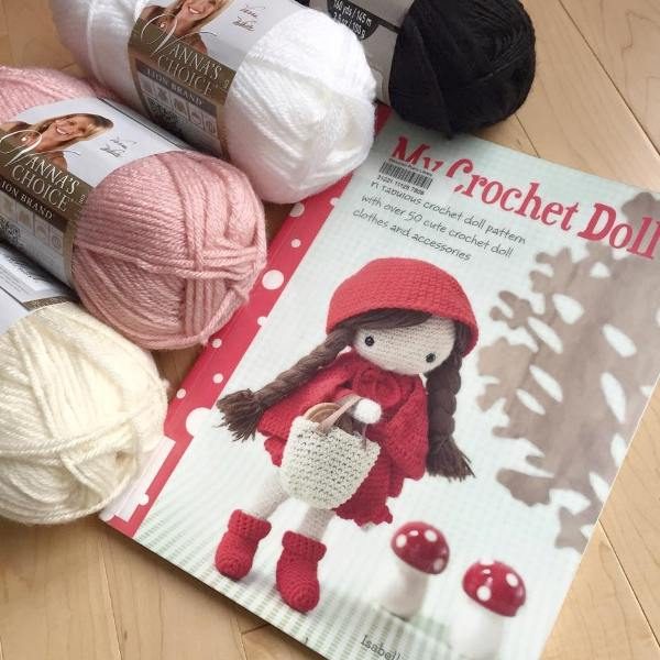 Free Crochet Doll Pattern- The Friendly Grace - thefriendlyredfox.com | 600x600