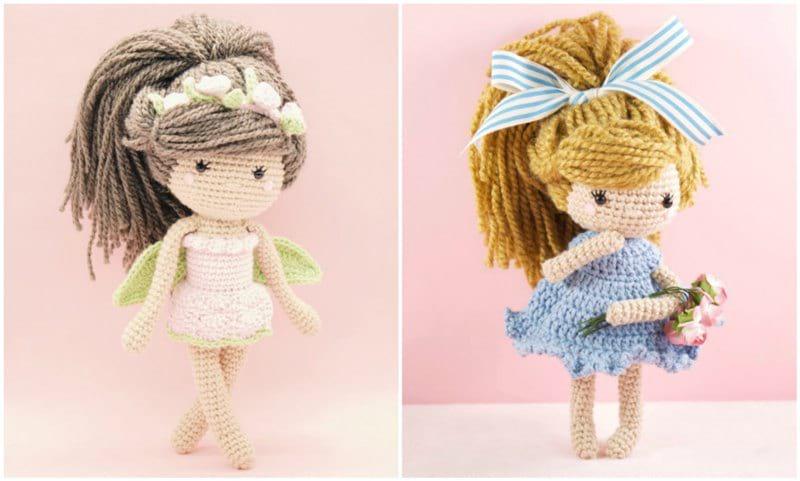 Crochet Pattern Doll : Myla doll all about ami