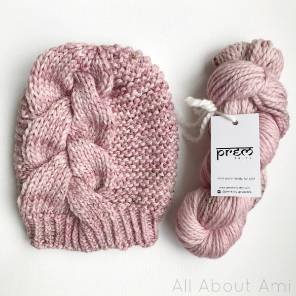 4c82cd5f11b It s wonderful because one skein of her yarn is enough to make one beanie  (either the Big Braid Beanie or Braided Cable Beanie)!