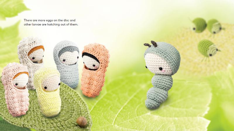 Baby Knitting Patterns Amigurumi Tiere von lalylala häkeln ... | 448x800