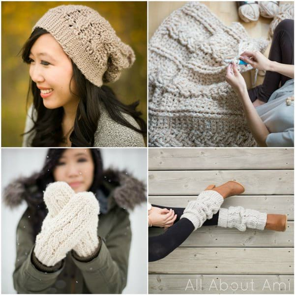 Crochet Cabled Designs - All About Ami