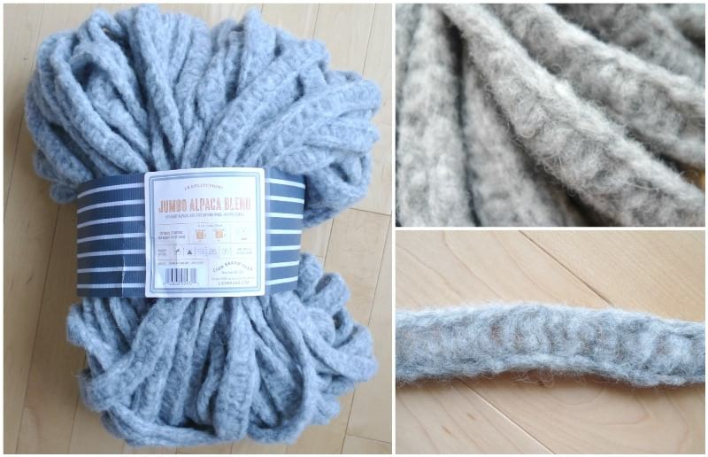 988671648 Jumbo Alpaca Crochet Scarf - All About Ami