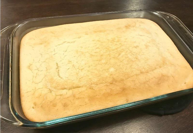 Baked Sweet Glutinous Rice Cake Recipe (Lian Gao)