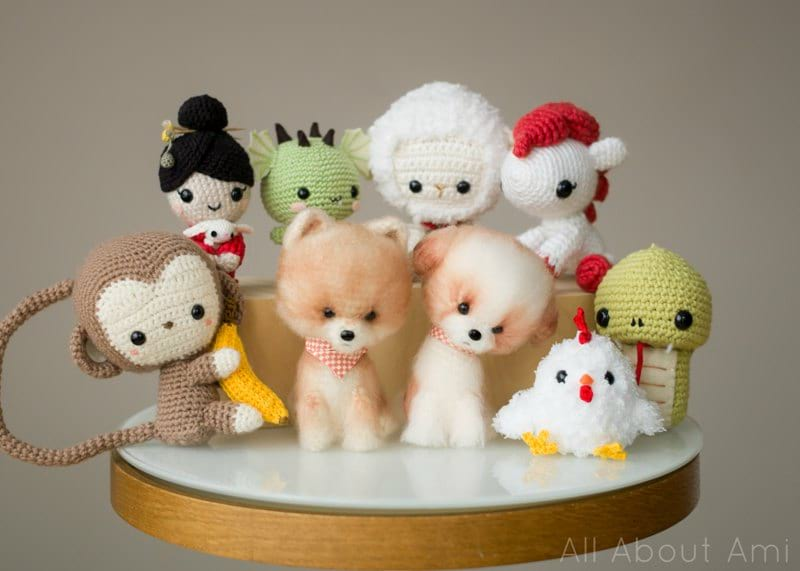 Chinese New Year Crochet Amigurumi