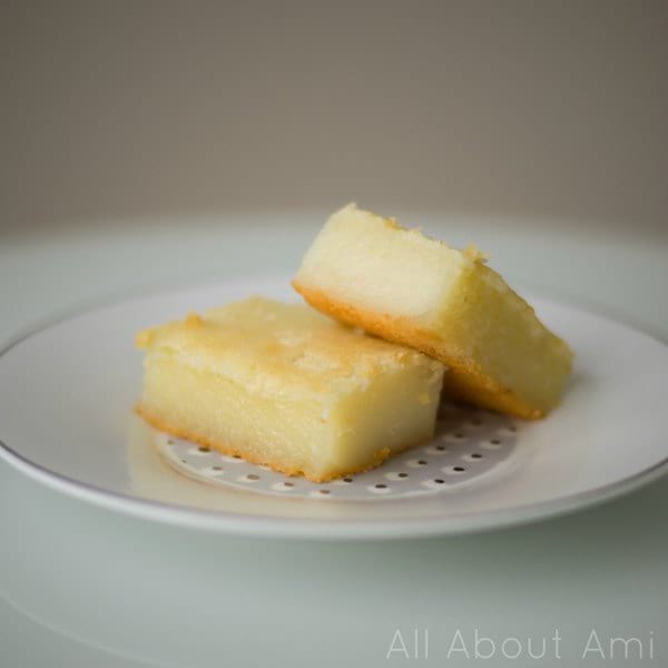 Baked Sweet Glutinous Rice Cake Recipe (Lian Gao)