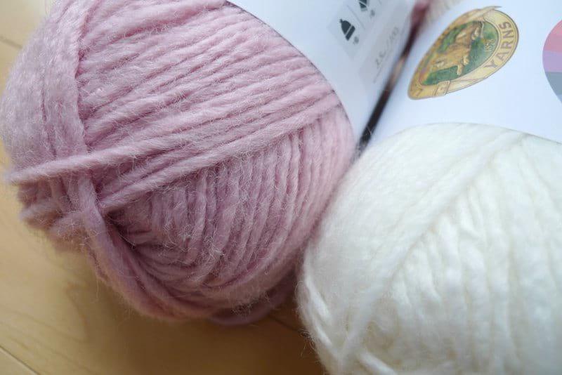New Basic 175 Yarn - Peony & Cream