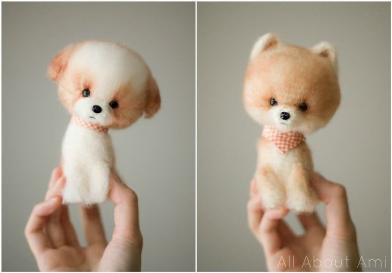 Chinese New Year Crochet Dog