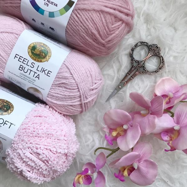Feels Like Butta & Baby Soft Boucle by Lion Brand Yarn