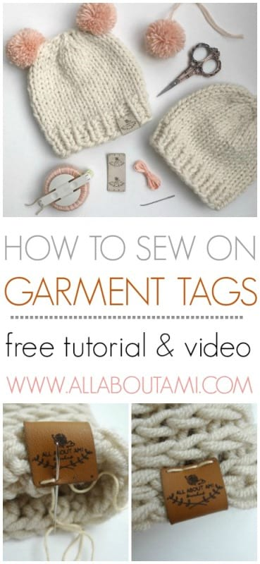 How to Sew on Garment Tags