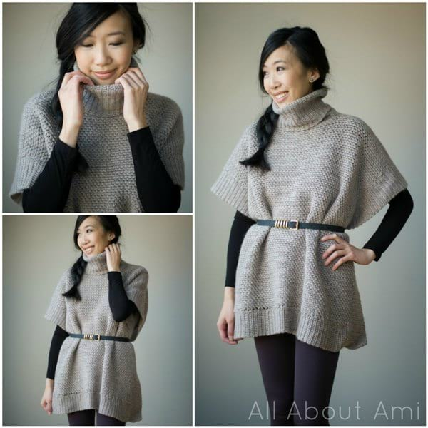 Pattern: Granite Poncho - All About Ami
