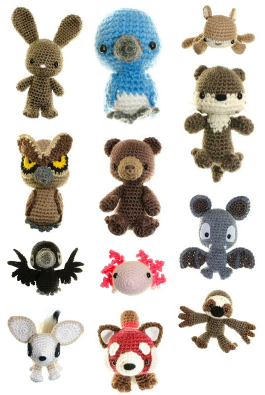 The Crochet Wildlife Guide