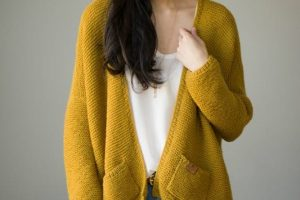 The Midtown Cardigan Knit Pattern