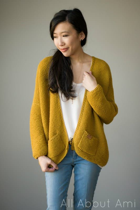 Pattern The Midtown Cardigan All About Ami