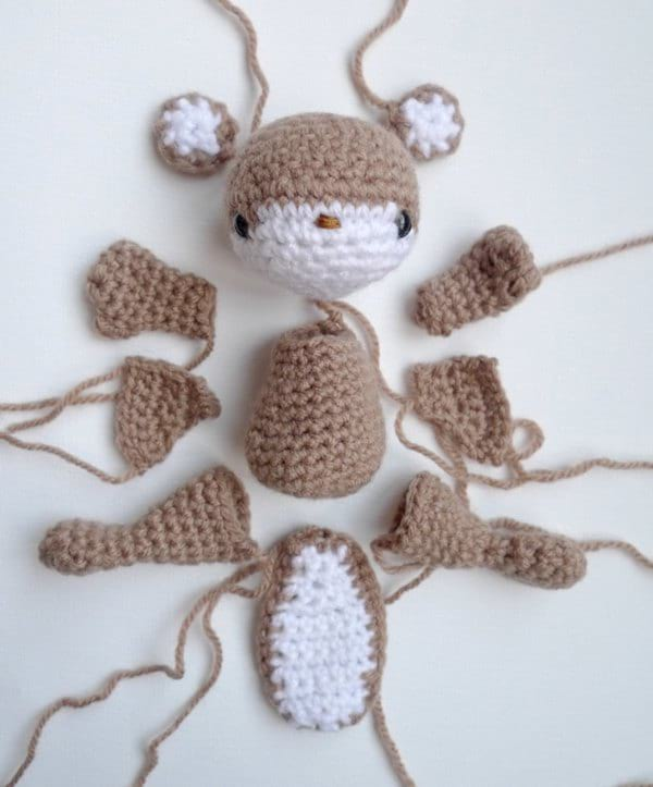 Crochet Wildlife Guide: Flying Squirrel