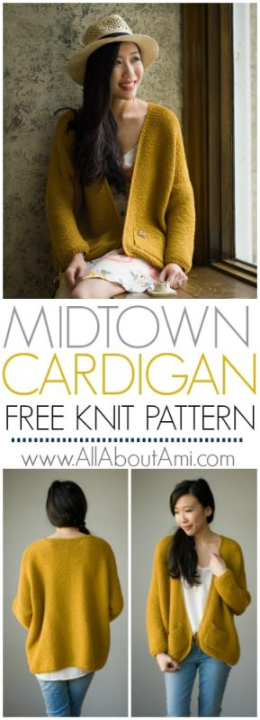 b03f5ba88 Pattern  The Midtown Cardigan - All About Ami