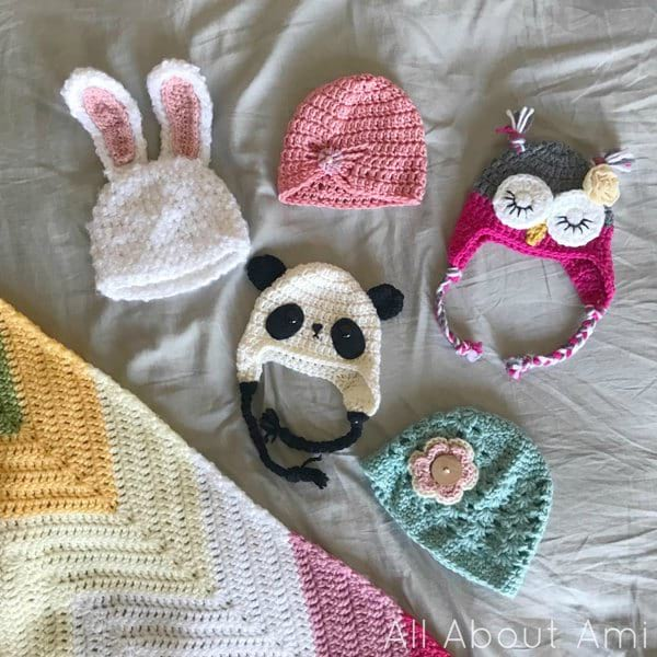 All About Ami Newborn Hats