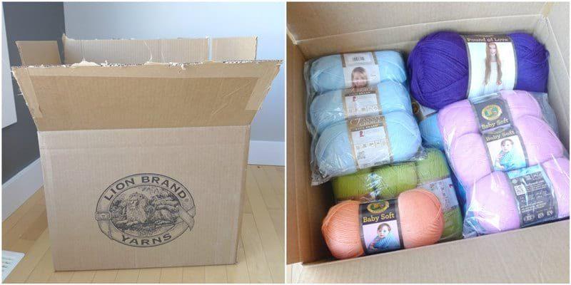 Lion Brand Yarn Beanies for Babie