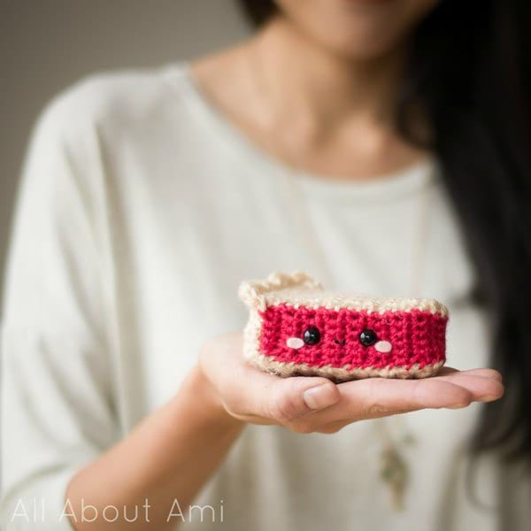 Amigurumi Cherry Pie from Whimsical Stitches Book