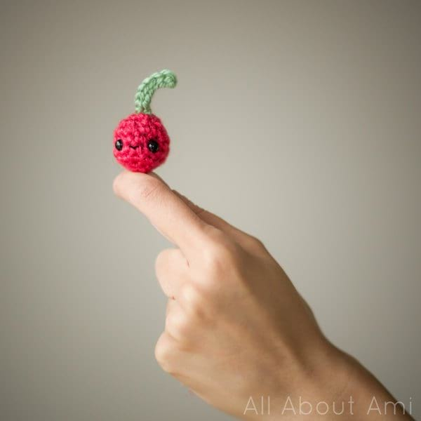 Amigurumi Cherry from Whimsical Stitches Book