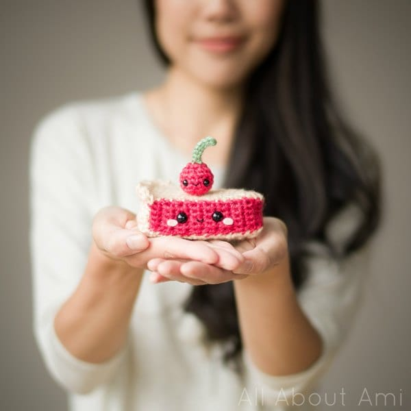 Amigurumi Cherry Pie & Cherry from Whimsical Stitches Book