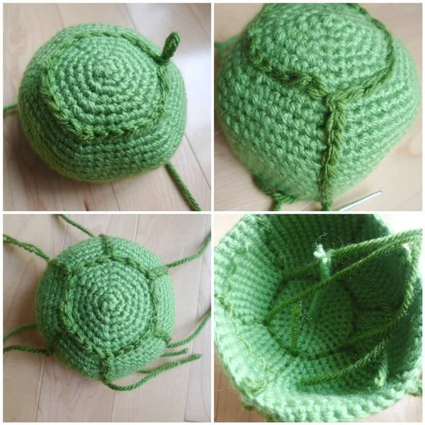 Amazon.com: Sea Turtle Crochet Pattern eBook: Gaines, Amy: Kindle ... | 600x600