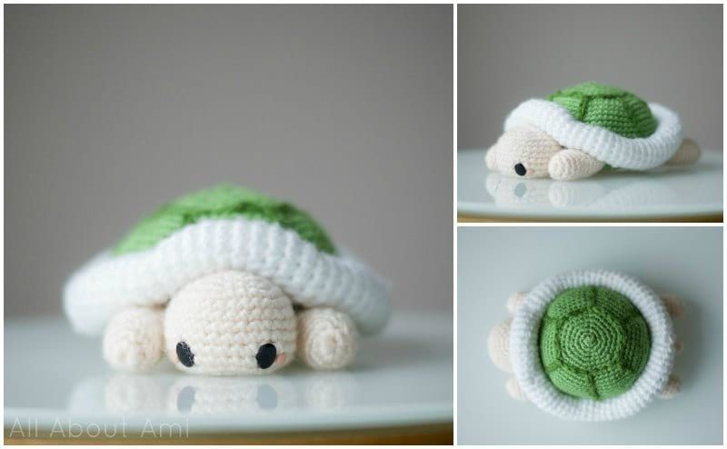 Pattern: Amigurumi Turtle - All About Ami